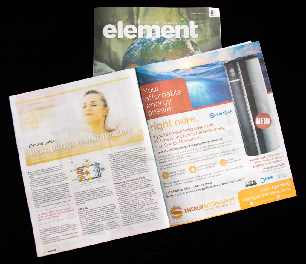 Element Native advertising July 2014