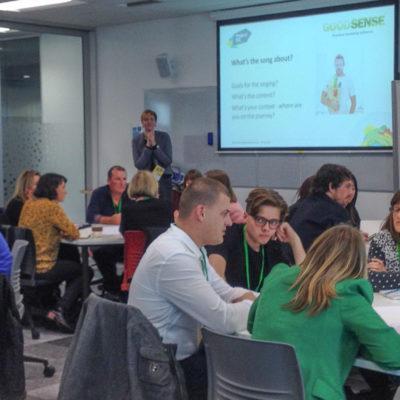GoodSense marketing workshop Project NZ 2015