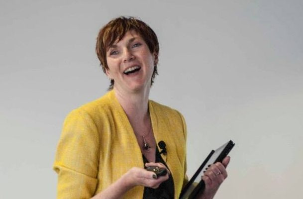 Kath Dewar speaking at Fit for the Future conference, 2013