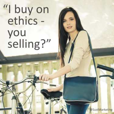 I buy on ethics, are you selling?