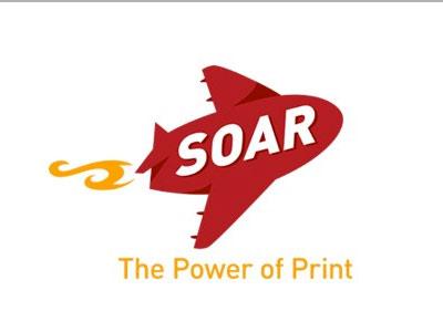 logo Soar printing