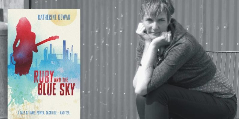 Ruby and the Blue Sky author Katherine Dewar