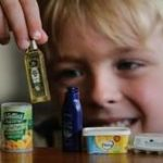 Image of child with New World Little Shop Collectibles