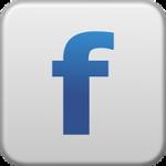 Image of Facebook logo button