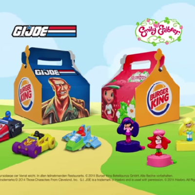 Image of burger king kids meals