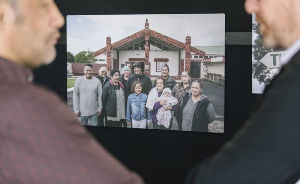 Te Puea manaakitanga tangata kaimahi - core team led by Hurimoana Dennis Photo: The Treehouse Creative
